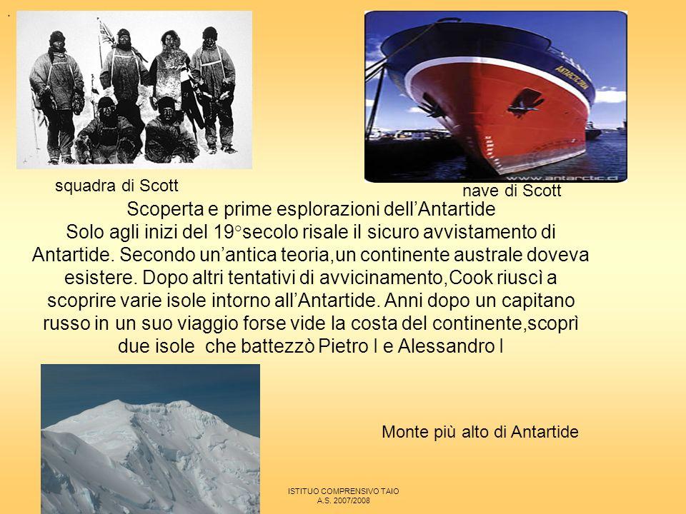 Scoperta e prime esplorazioni dell'Antartide