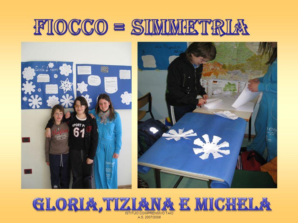 Gloria,Tiziana e Michela