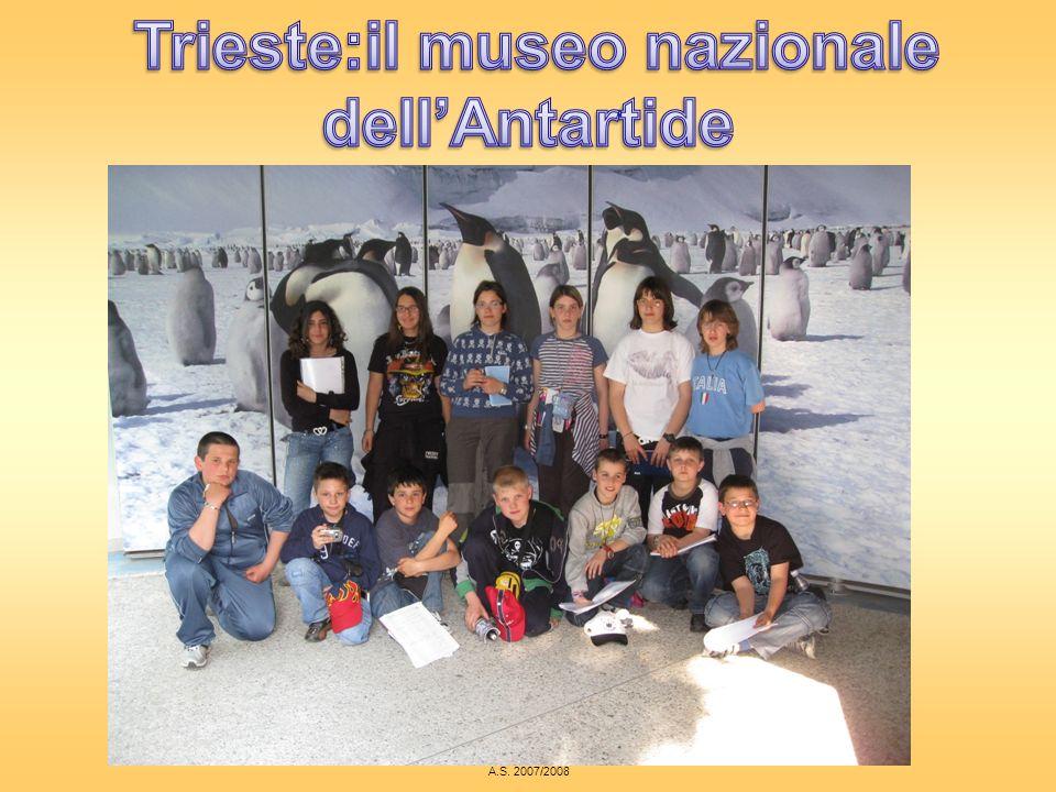 Trieste:il museo nazionale dell'Antartide