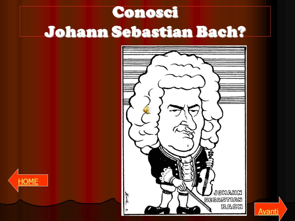 Conosci Johann Sebastian Bach