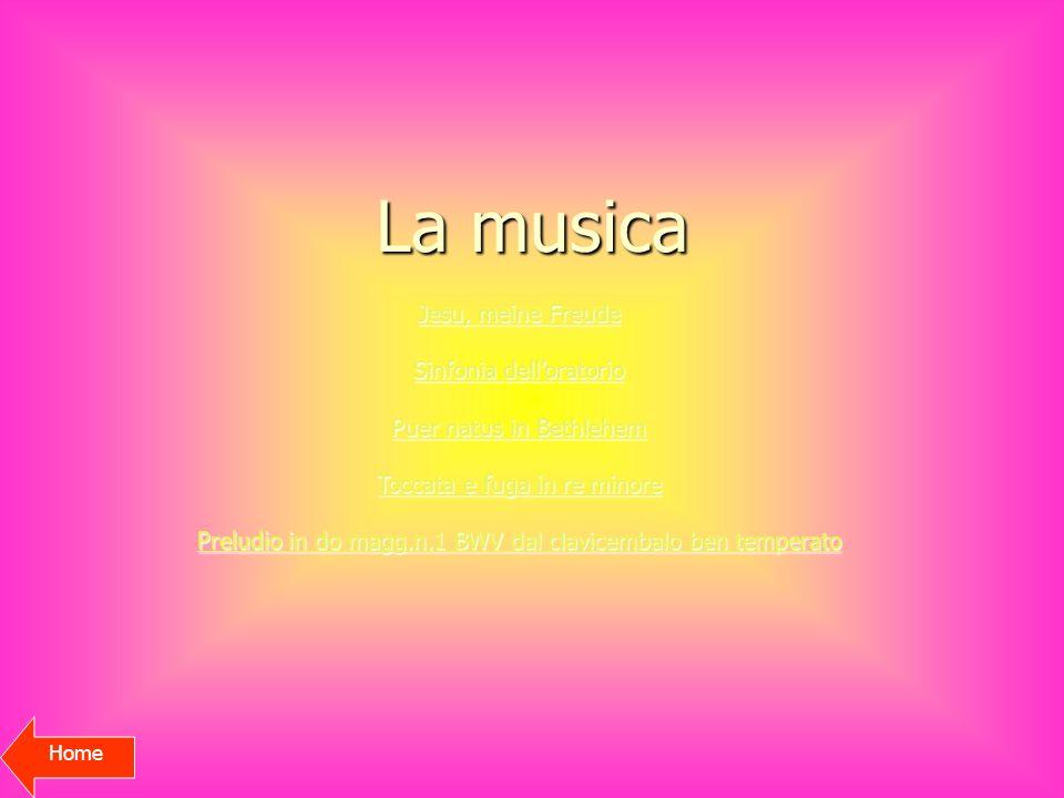 La musica Jesu, meine Freude Sinfonia dell'oratorio