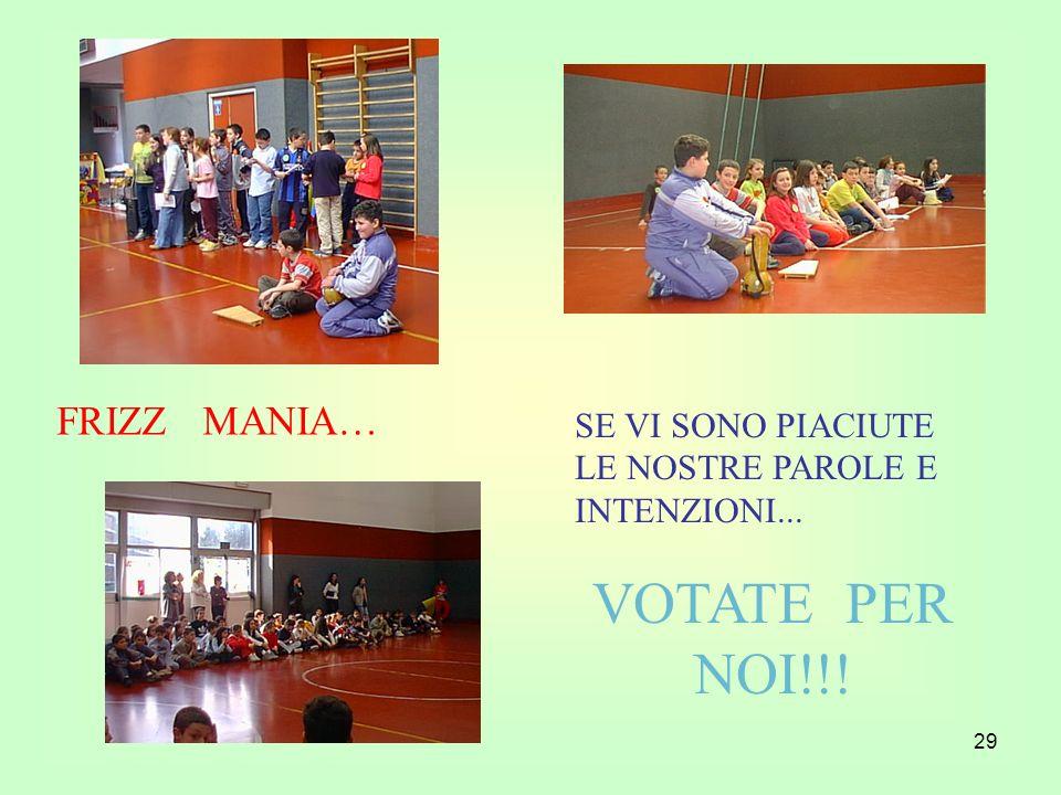 VOTATE PER NOI!!! FRIZZ MANIA…
