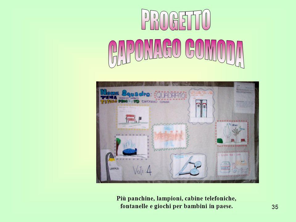 PROGETTO CAPONAGO COMODA