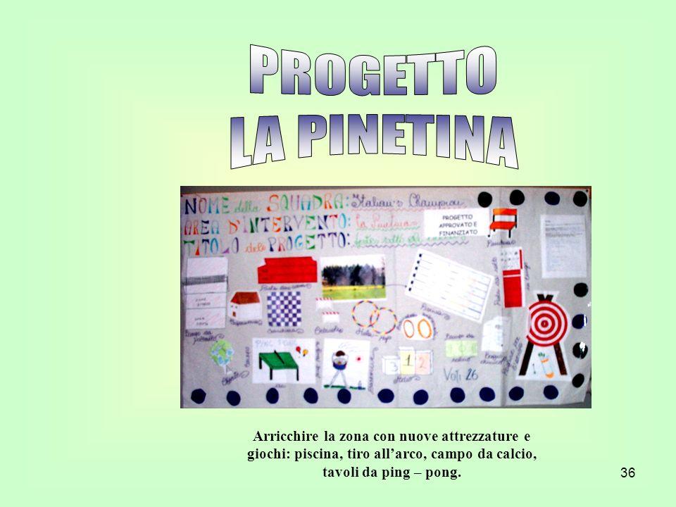 PROGETTO LA PINETINA.