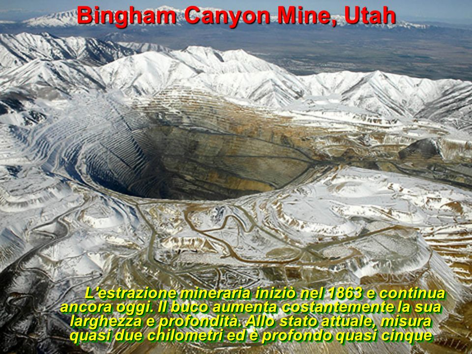 Bingham Canyon Mine, Utah