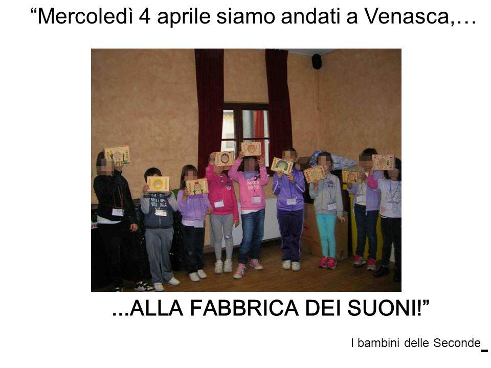 Mercoledì 4 aprile siamo andati a Venasca,…