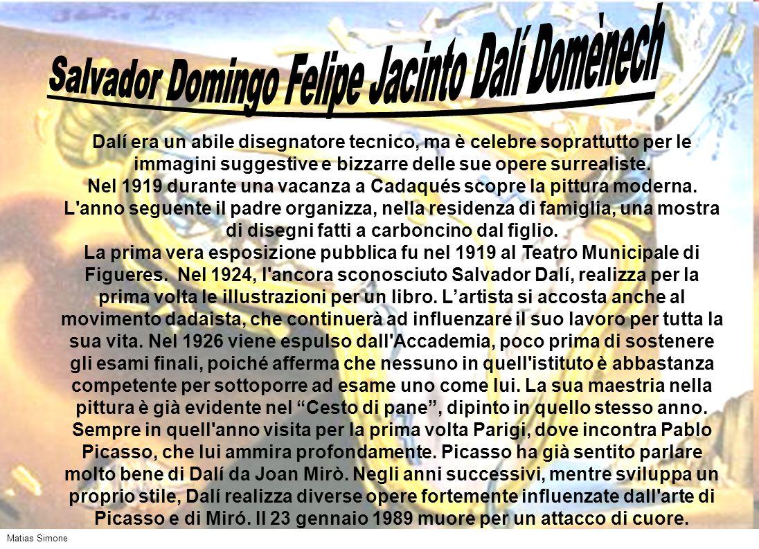 Salvador Domingo Felipe Jacinto Dalí Domènech