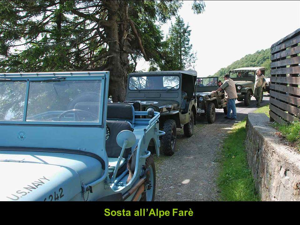 Sosta all'Alpe Farè