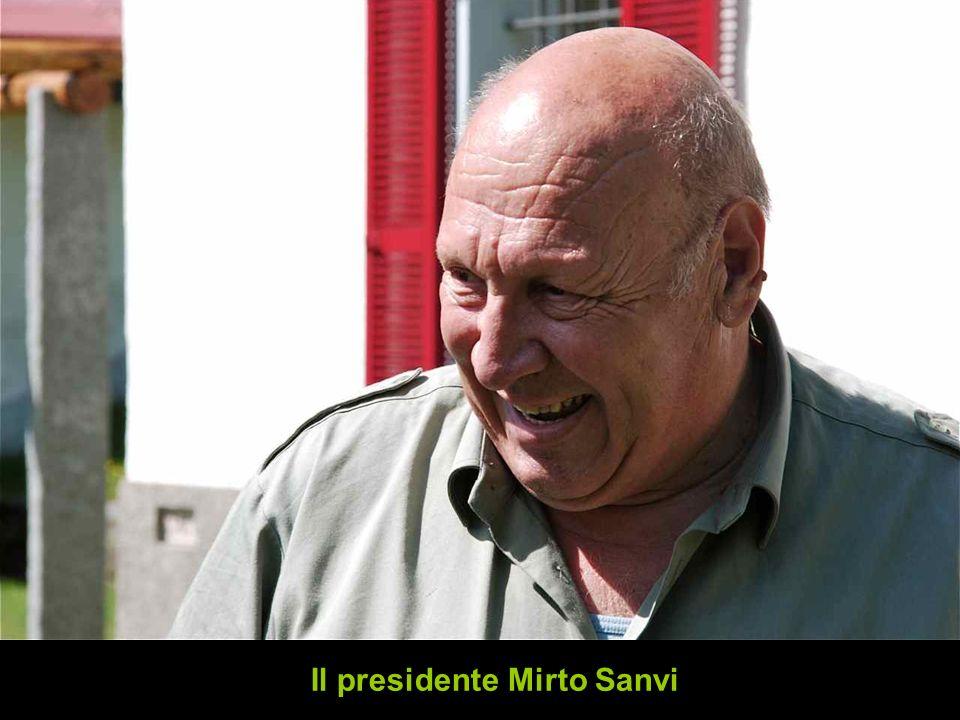 Il presidente Mirto Sanvi
