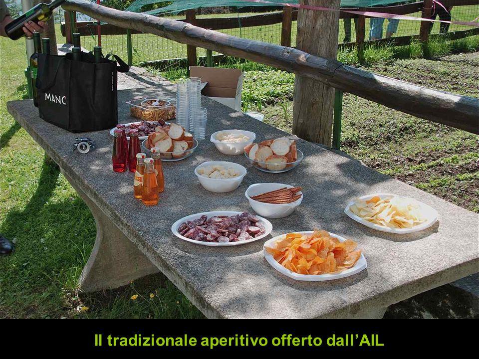 Il tradizionale aperitivo offerto dall'AIL