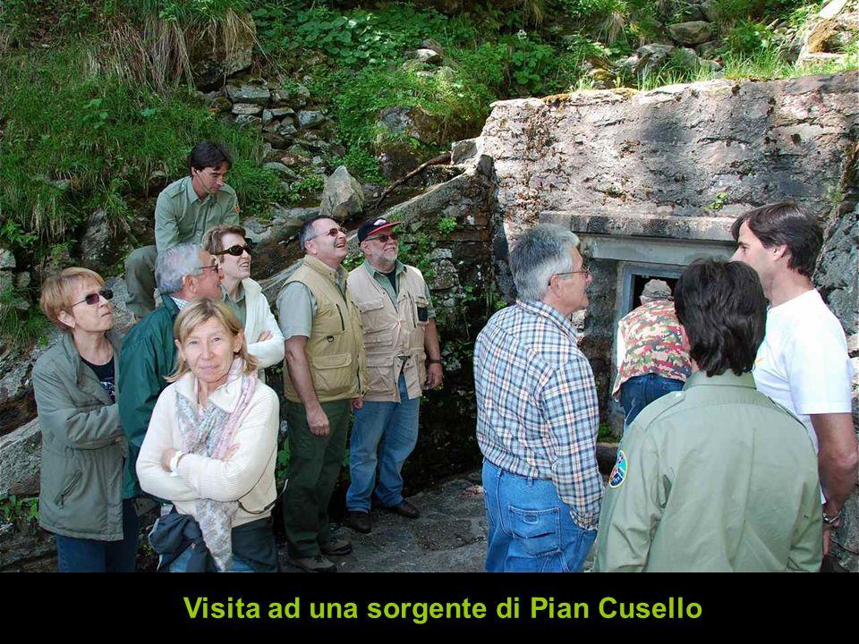 Visita ad una sorgente di Pian Cusello
