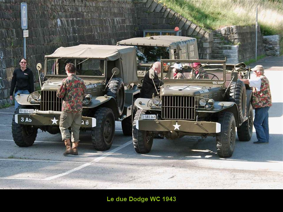 Le due Dodge WC 1943