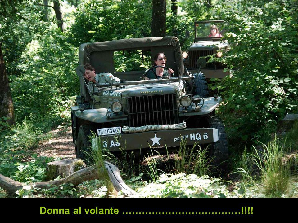 Donna al volante ………………………………!!!!