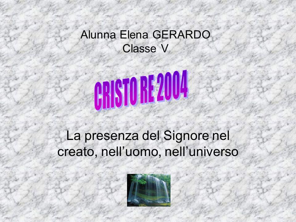 Alunna Elena GERARDO Classe V