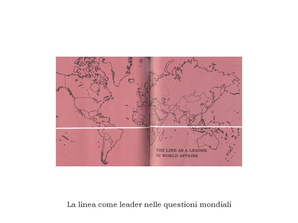 La linea come leader nelle questioni mondiali