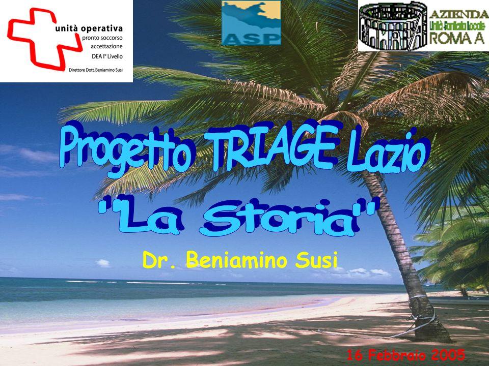 Progetto TRIAGE Lazio La Storia