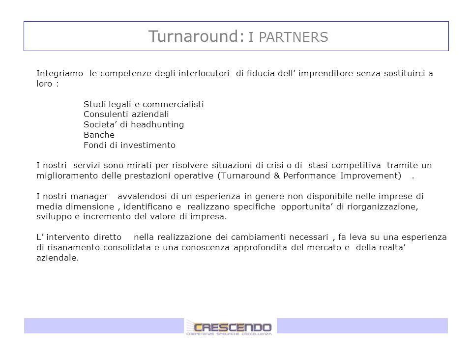 Turnaround: I PARTNERS
