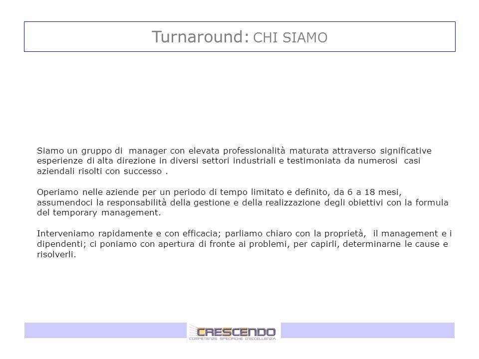 Turnaround: CHI SIAMO