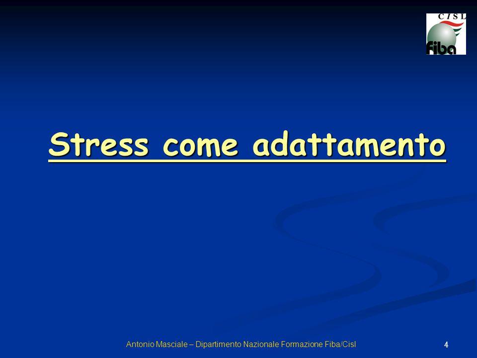 Stress come adattamento