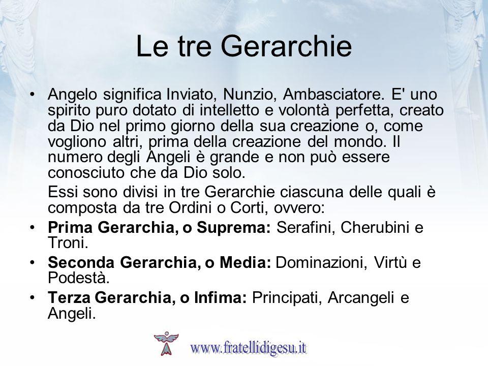 Le tre Gerarchie