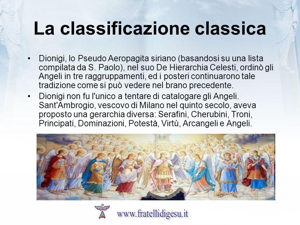 La classificazione classica