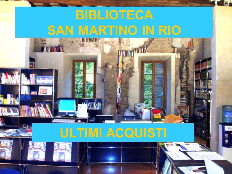 BIBLIOTECA SAN MARTINO IN RIO