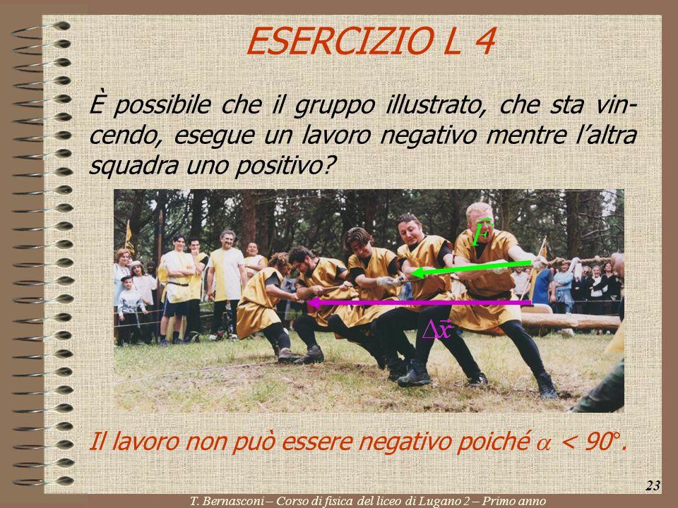 T. Bernasconi – Corso di fisica del liceo di Lugano 2 – Primo anno