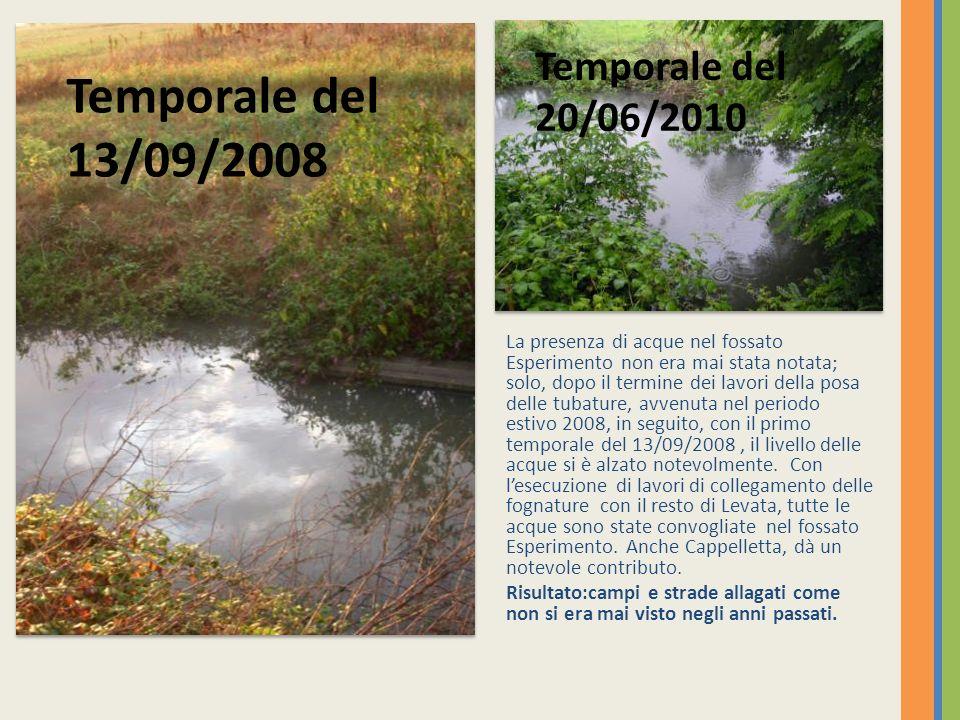 Temporale del 13/09/2008 Temporale del 20/06/2010