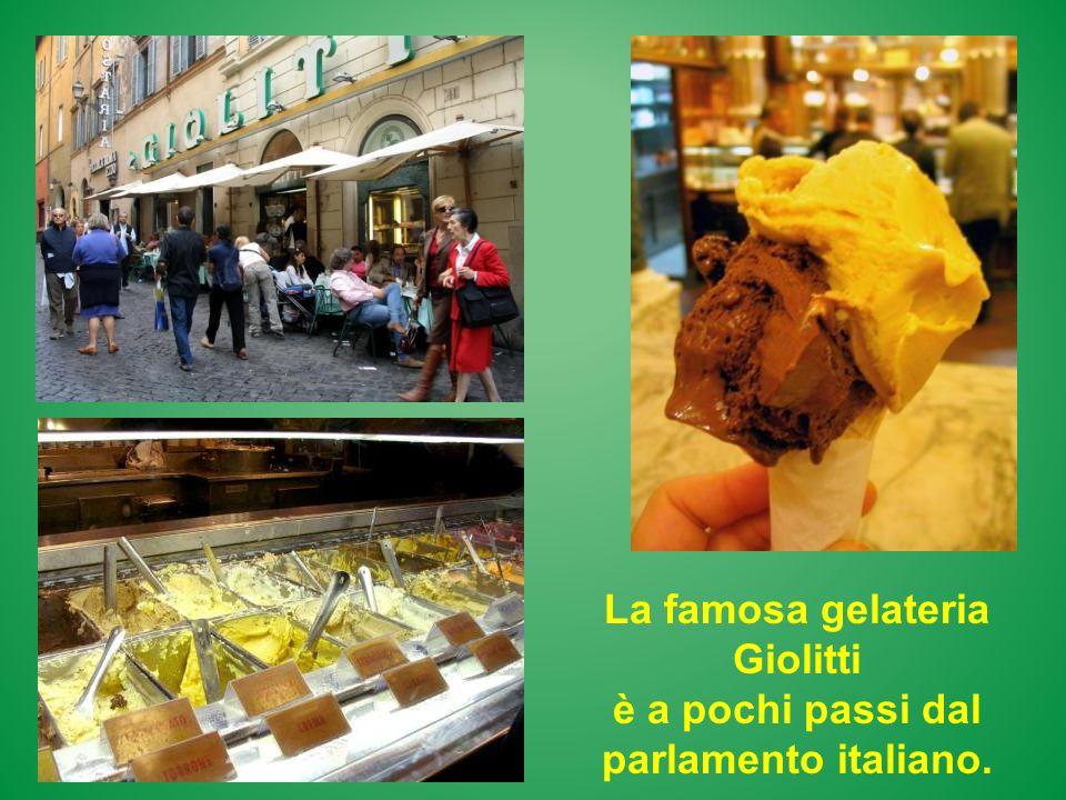 La famosa gelateria Giolitti