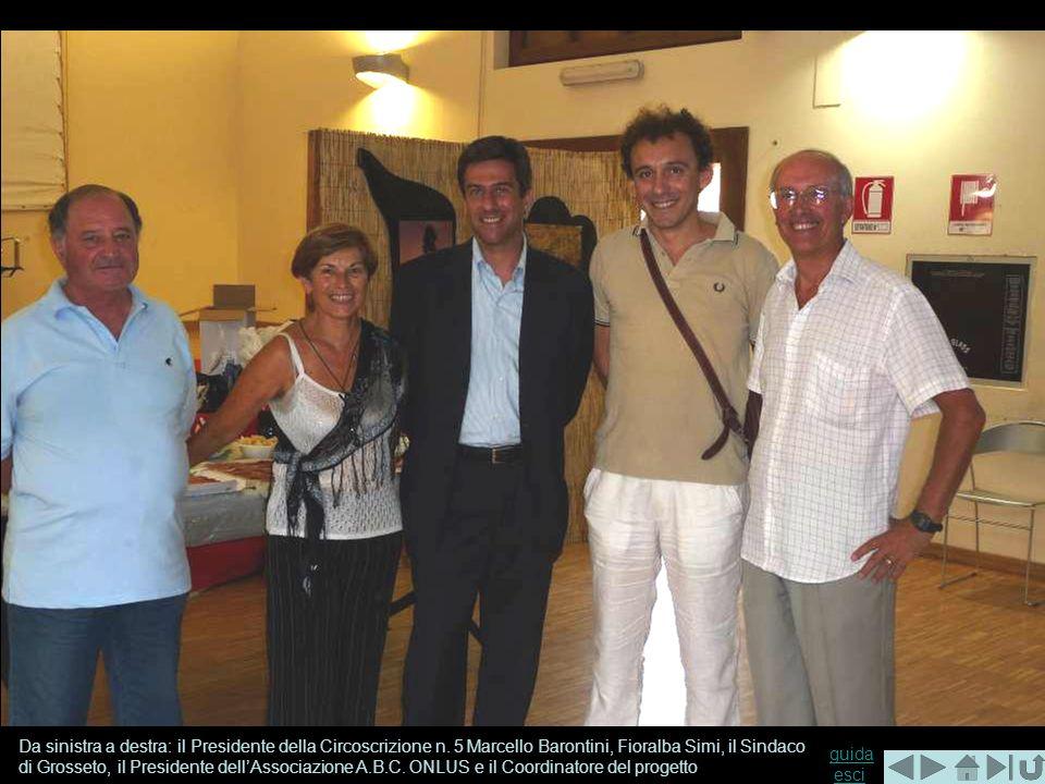 Da sinistra a destra: il Presidente della Circoscrizione n