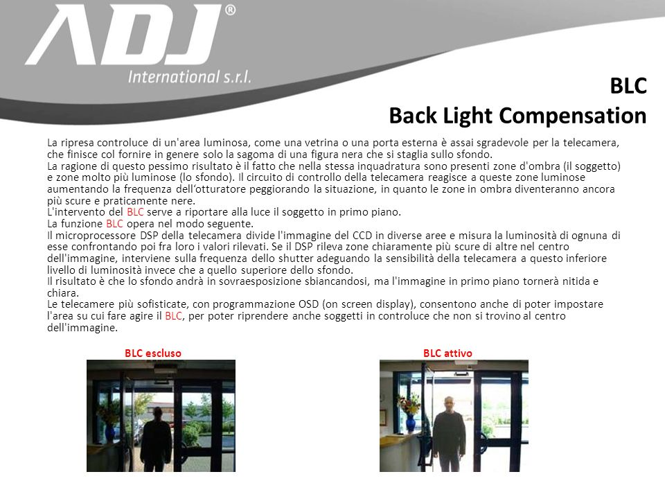 Back Light Compensation
