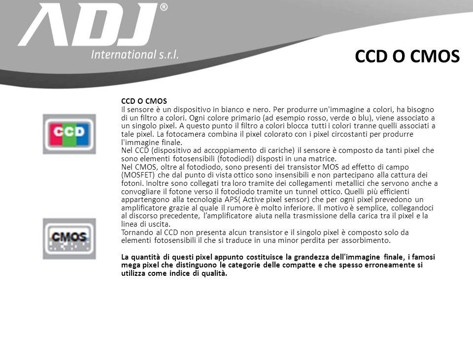 CCD O CMOS