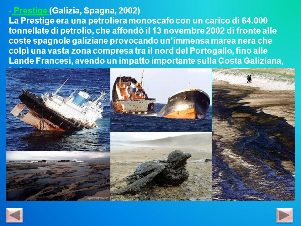 Prestige (Galizia, Spagna, 2002)