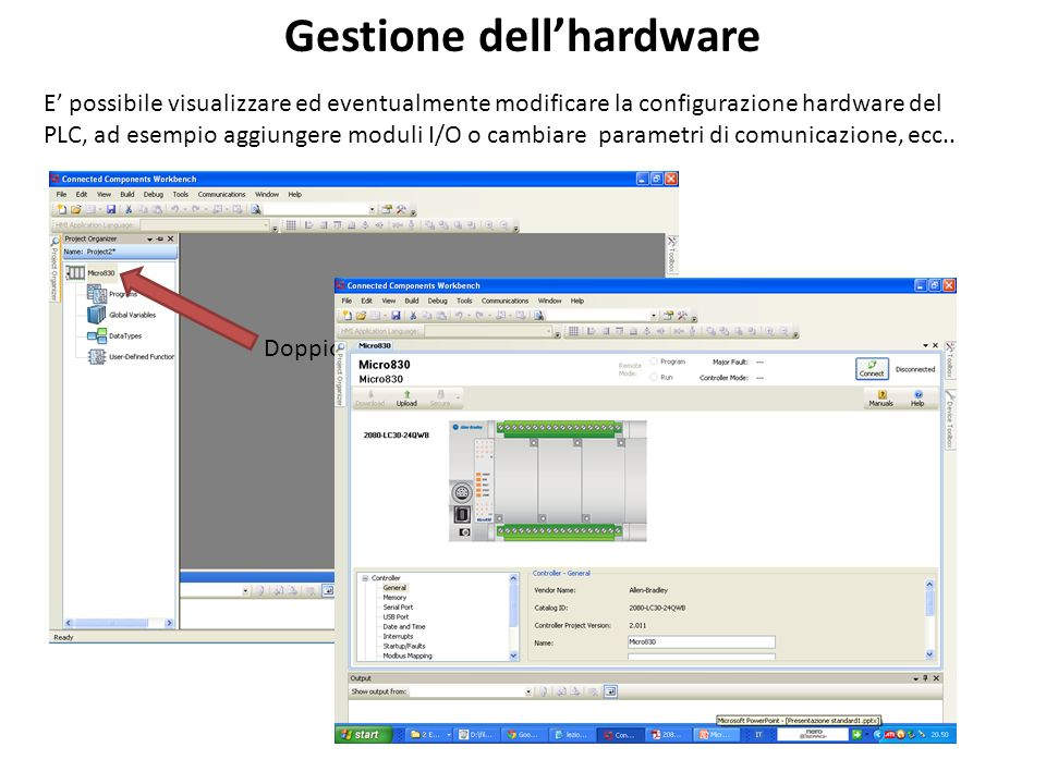 Gestione dell'hardware