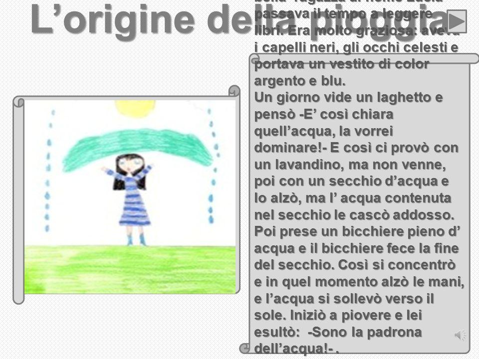 L'origine della pioggia