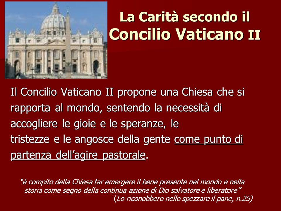 La Carità secondo il Concilio Vaticano II