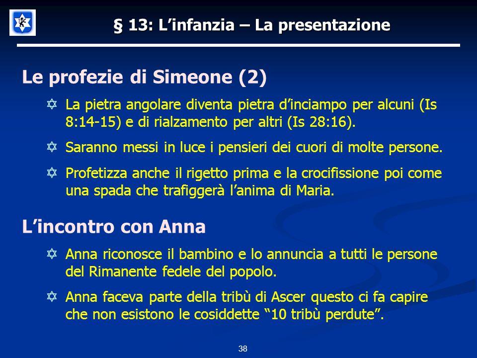 § 13: L'infanzia – La presentazione