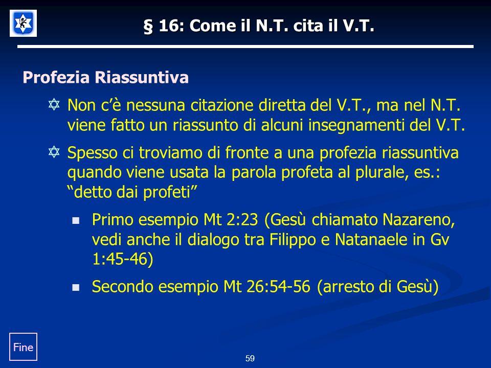 Secondo esempio Mt 26:54-56 (arresto di Gesù)
