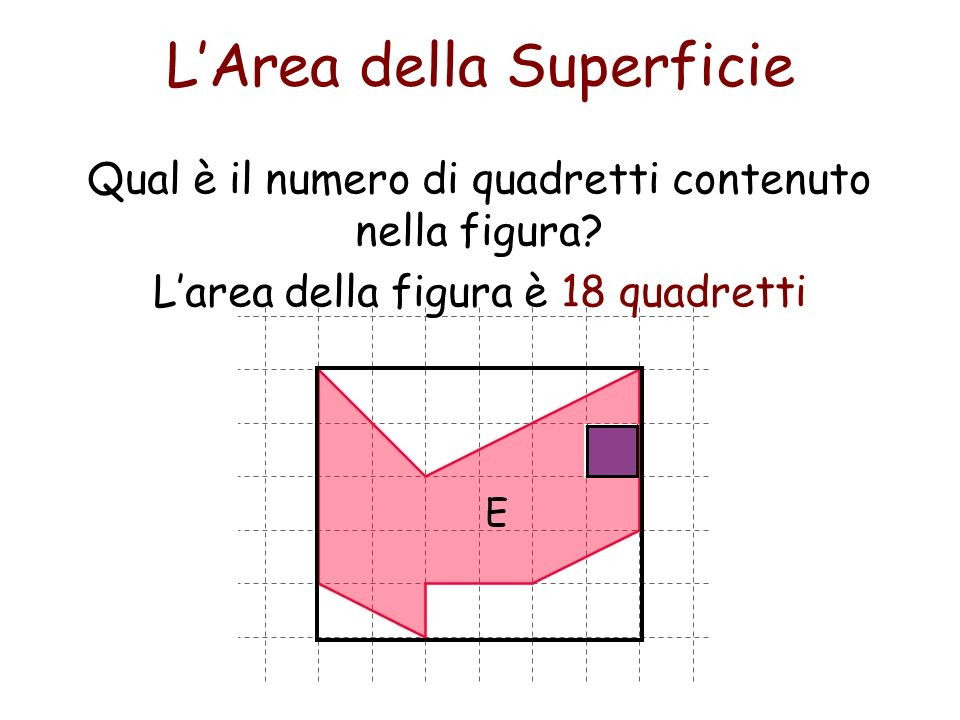 L'Area della Superficie
