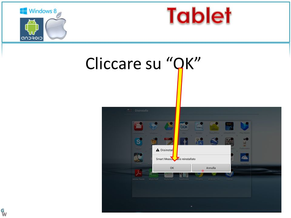 Cliccare su OK