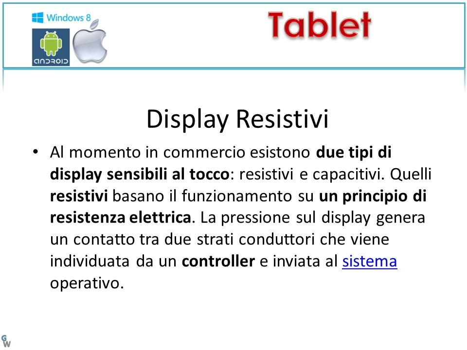 Display Resistivi