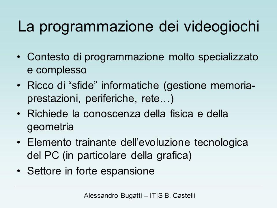 La programmazione dei videogiochi