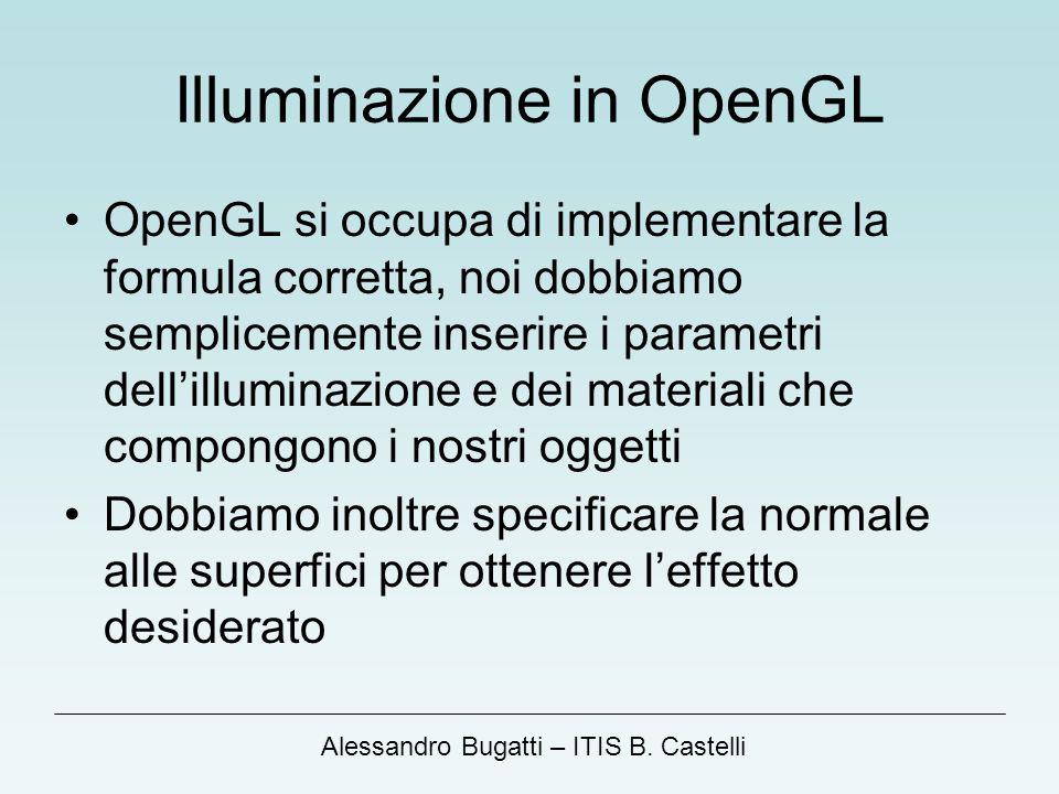 Illuminazione in OpenGL