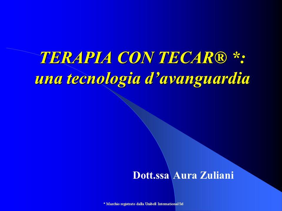TERAPIA CON TECAR® *: una tecnologia d'avanguardia