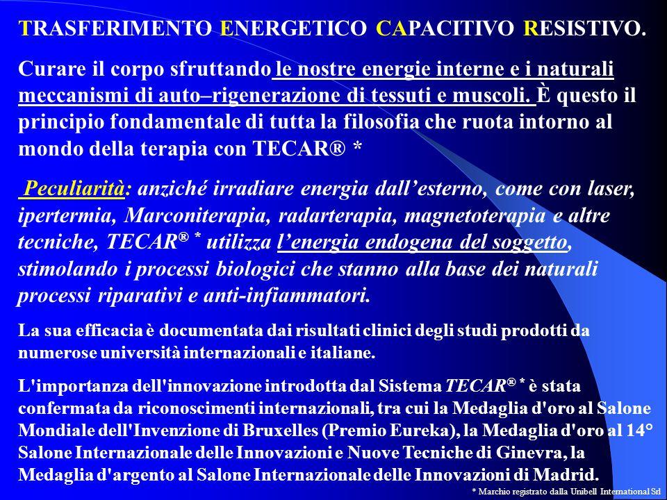 TRASFERIMENTO ENERGETICO CAPACITIVO RESISTIVO.