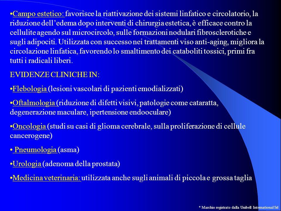 Flebologia (lesioni vascolari di pazienti emodializzati)