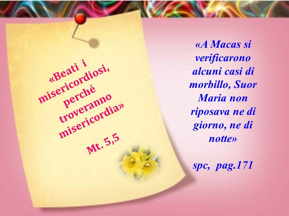 «Beati i misericordiosi, perché troveranno misericordia»