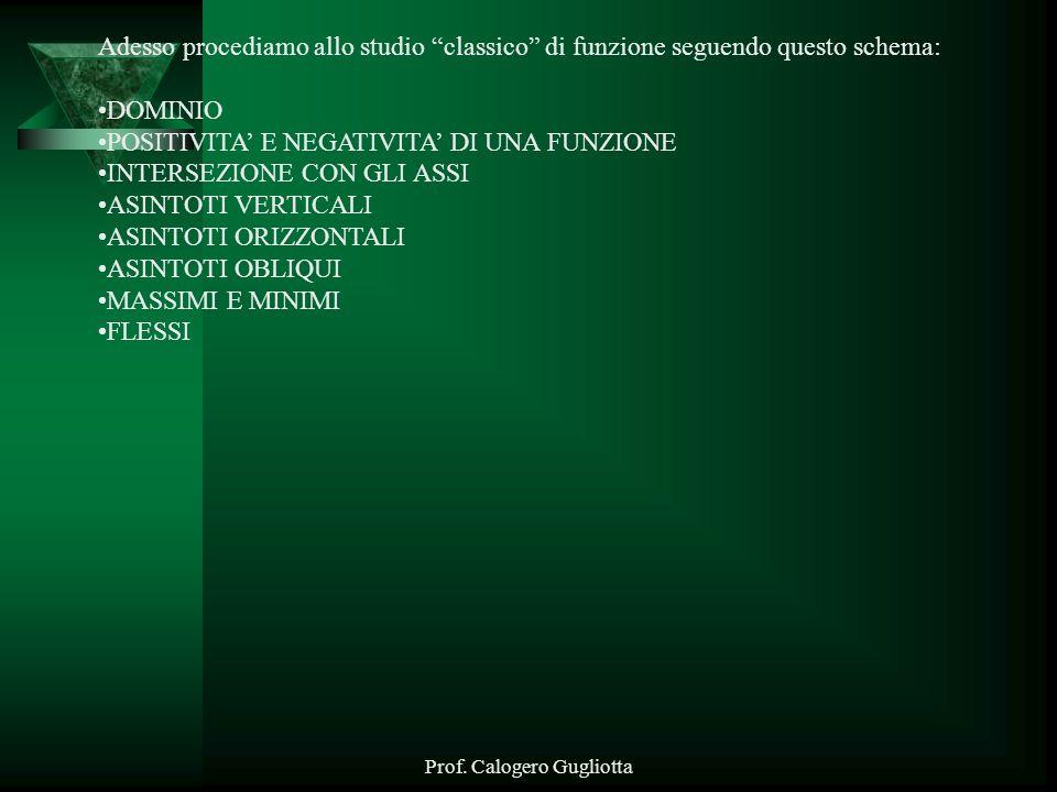 Prof. Calogero Gugliotta