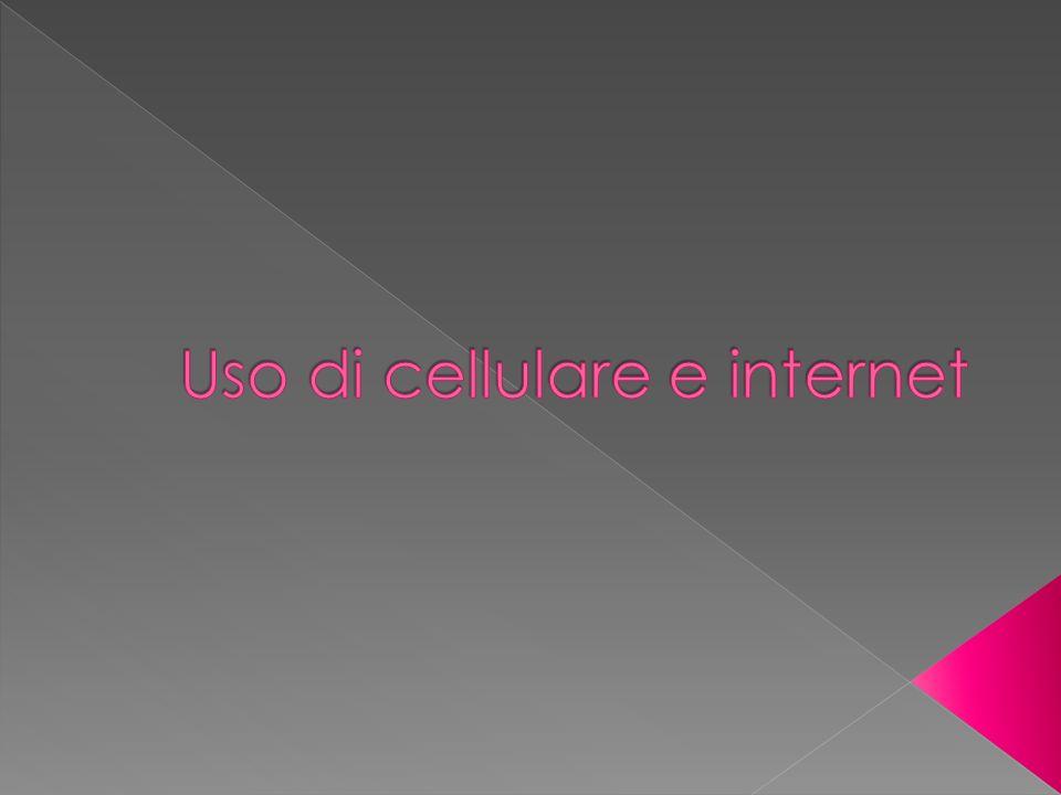 Uso di cellulare e internet