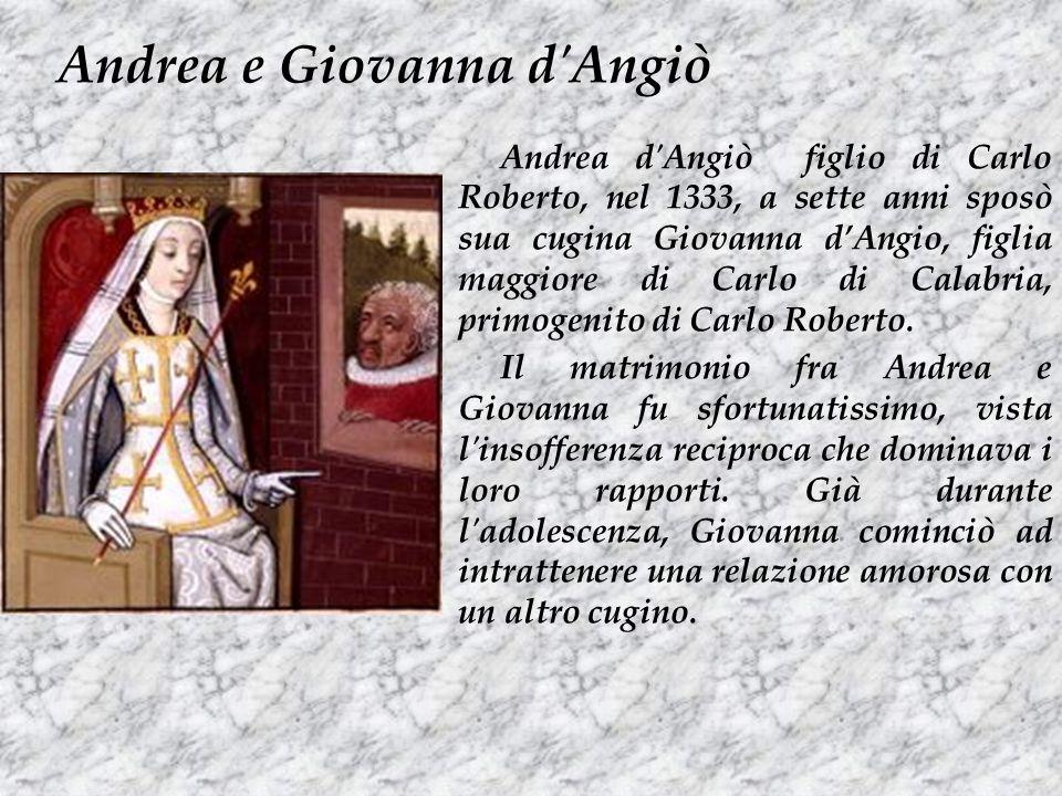 Andrea e Giovanna d Angiò